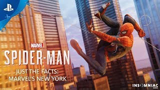 Marvel's Spider Man – Just the Facts  MARVEL'S NEW YORK   PS4