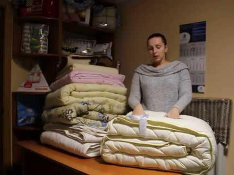 Типы одеял для зимы