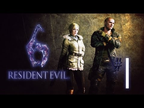 Lets Play Resident Evil 6 [Sherry] (Blind) #01 - Blind Date