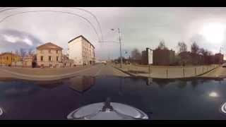 Москва.Панорамное видео 360