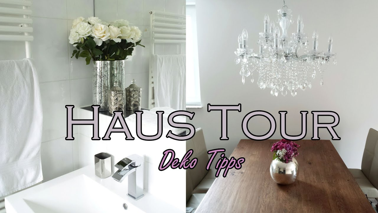 Haus tour deko tipps youtube for Dekoration haus
