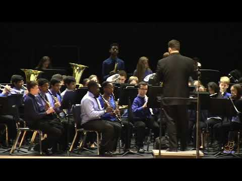 Enloe High School Concert Band performs Bunker Hill on 3/28/2019
