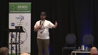 Graham McBain of  XYO Network speaking at speaking at ADI Vancouver Blockchain Summit - Sept 2018