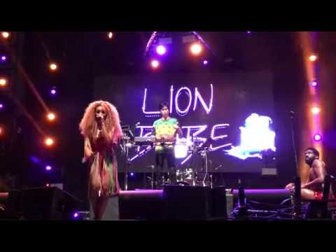 Lion Babe - Treat Me Like Fire LIVE HD (2016) LA Pride 2016 West Hollywood