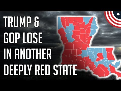 Election Results Louisiana Governor - Trump & GOP Take Another Loss - November 16, 2019