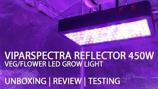 Viparspectra Athfhriotháil agus Athbhreithniú ar Fhásra 450W Veg / LED Flower Light