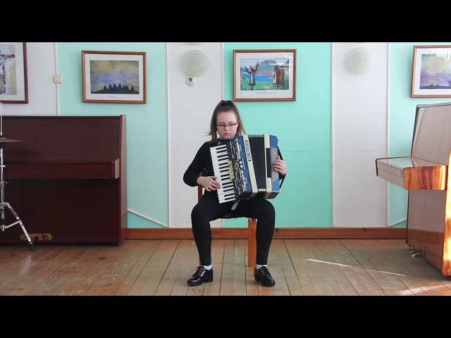 Мексиканская народная мелодия Скамеечка. Аранжировка для аккордеона Борис Солохин.