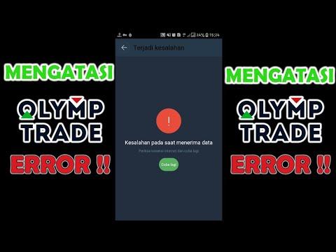olymp trade susah koneksi