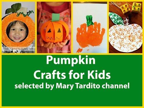 Pumpkin Crafts For Kids – Halloween Kid Crafts Ideas