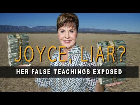 JOYCE, LIAR? Her False Teachings Exposed
