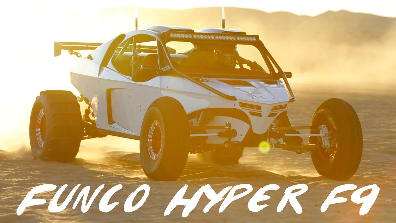 Funco Hyper F9 in Glamis Sand Dunes YouTube