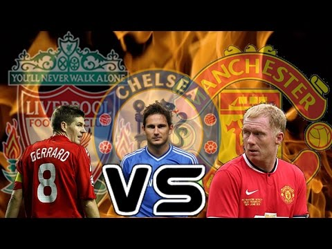 11 GERRARDS V 11 LAMPARDS V 11 SCHOLES (Football Manager 2017