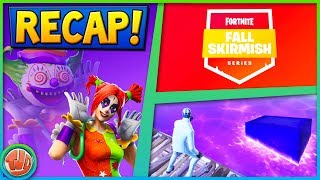 CUBE EVENT | FALL SKIRMISH | SEASON 6 (RECAP WEEK 38) - Fortnite: Battle Royale