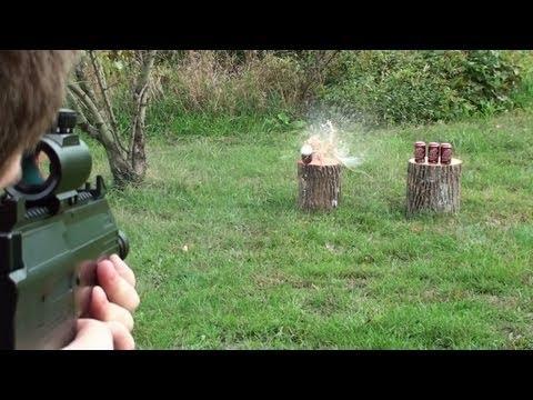 Shooting Umarex Steel Storm Automatic Machine Pistol Co2 BB Gun - Red Dot Sight