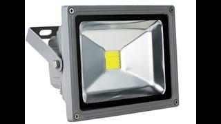 Купить светодиодный прожектор GEEN LF 20W(Приобрести данную продудукцию можно на сайте http://selstroy.com.ua Светодиодный прожектор FL-20 можно устанавливать..., 2014-09-19T11:32:33.000Z)