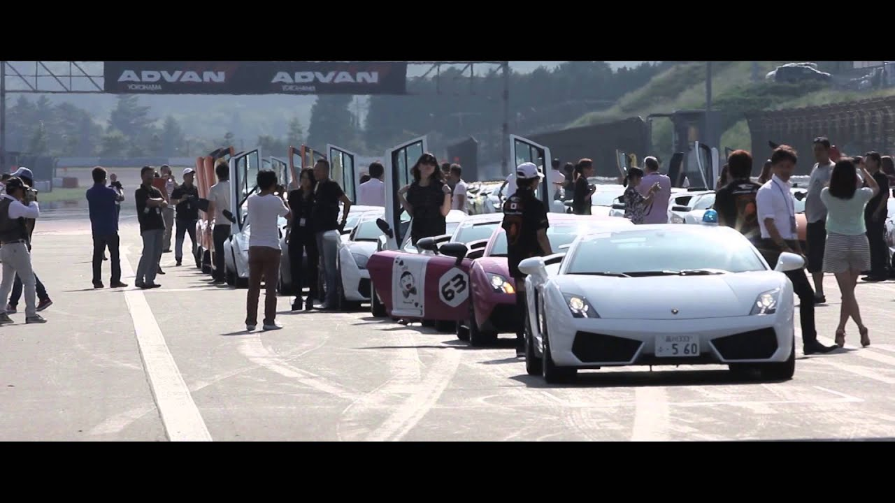 Lamborghini Super Trofeo 2013 - Fuji Highlights