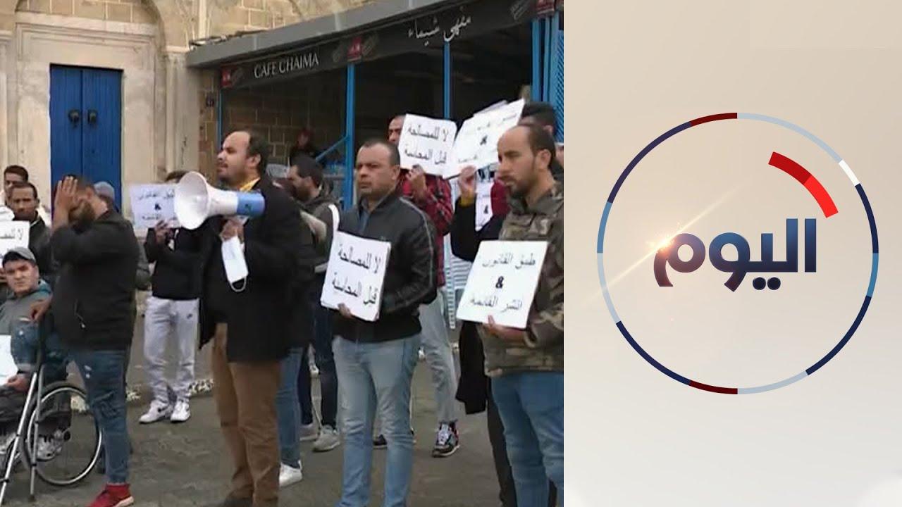 جرحى الثورة التونسية يضربون عن الطعام مطالبين الحكومة بـ-رد اعتبارهم-