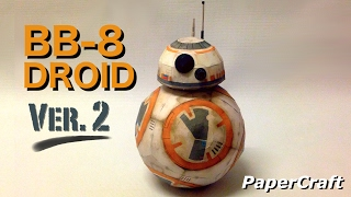 BB-8 Droid PaperCraft Ver.2