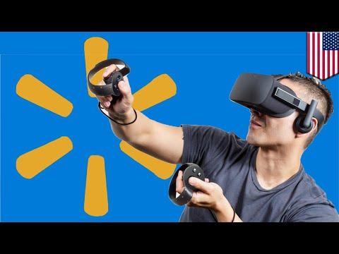 Walmart files patent for virtual reality shopping - TomoNews
