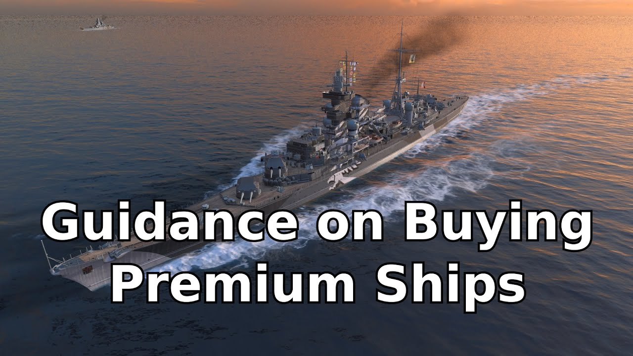 Guidance on Buying Premium Ships in World of Warships (Prinz Eugen Replay)
