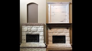 Custom Mantel Remodel- Design Build