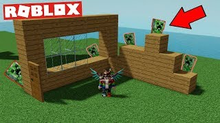 🧱 i HAVE TO BUILD, OR the CREEPERS will 😨/ROBLOX/Creeper CHAOS/jurasek05