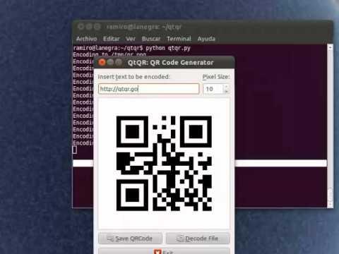 QtQr' app quickly creates and decodes QrCodes in Ubuntu - OMG! Ubuntu!