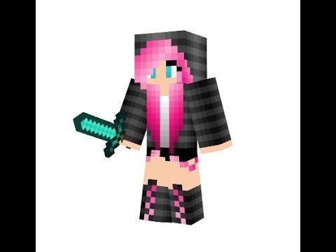 Minecraft Skin Editor Make Cute Heart Girl YouTube - Skins fur minecraft madchen