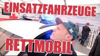 Viel Blaulicht auf der RETTmobil in Fulda ! | ItsMarvin