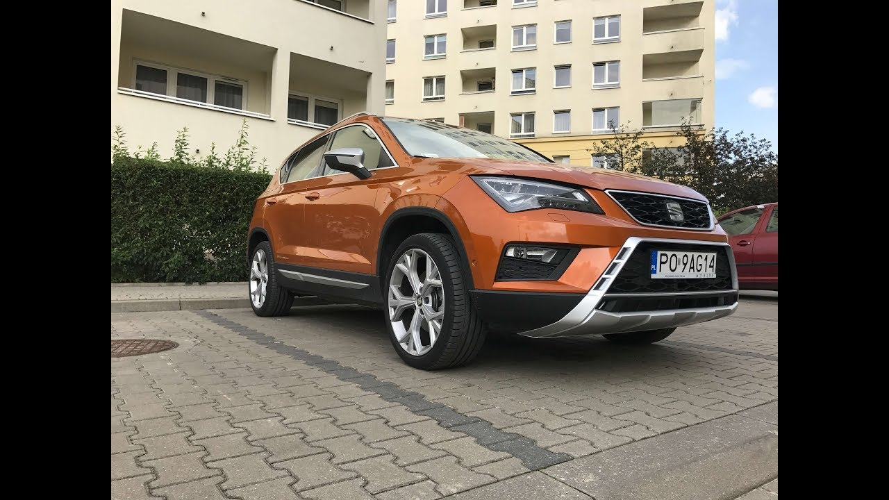 seat ateca fr 1 4 tsi 150 dsg test pl pertyn gl dzi youtube. Black Bedroom Furniture Sets. Home Design Ideas