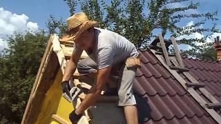 как сделать ветровую доску на крыше