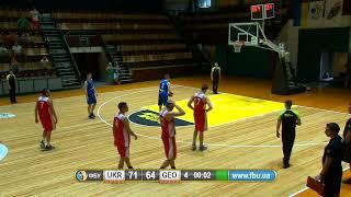 Турнір в Києві. Україна U-20 — Грузія U-20
