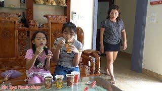 Mẹ Ghẻ Con Chồng Phần 20 - Mẹ Mua Cho Thùy Giang Xúc Xích Xuxifarm - MN Toys Family Vlogs