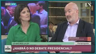 ¿Habrá o no debate presidencial?