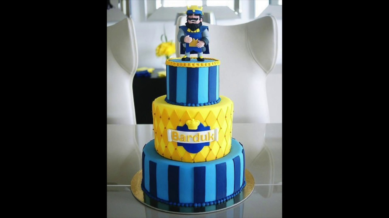 Clash Royale Birthday Cake