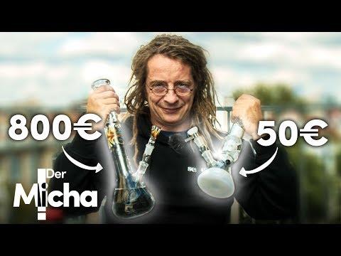 50€ Bong vs. 800€ Bong!