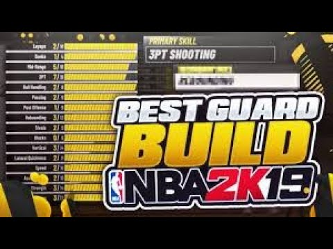 NBA 2K19: BEST PG/SG BUILDS l OVERPOWERED POINT/SHOOTING BUILDS l NEVER MISS!!