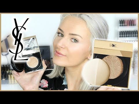 Trying NEW Foundation | $99 YSL Touche Eclat Cushion Review!