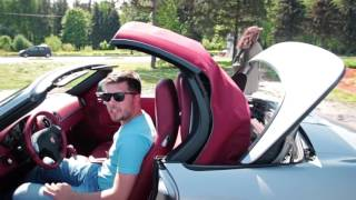 Porsche Boxster S Тест драйв Anton Avtoman
