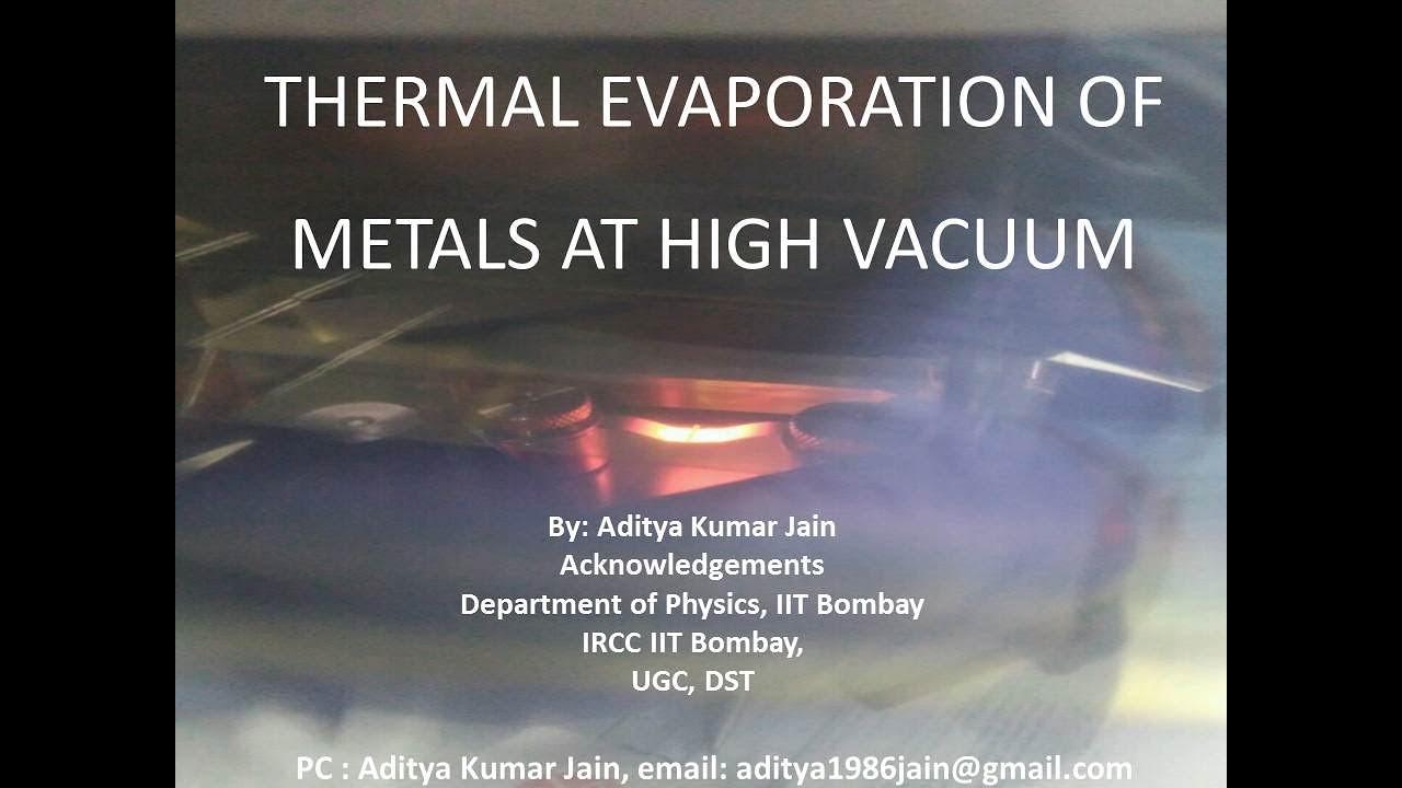 Thermal Evaporation - PageBD Com