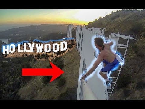 TRESPASSING on Hollywood Sign | Community Service Hours