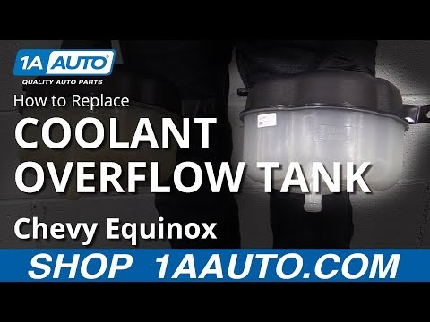How to Replace Coolant Overflow Tank 10-17 Chevy Equinox