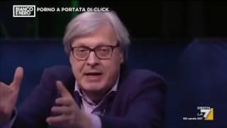 Vittorio Sgarbi su Tiziana Cantone: 'L'uomo è naturalmente inferiore, ha solo più forza fisica'