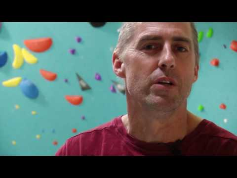Setting Grip Boulderhal With Louie Anderson