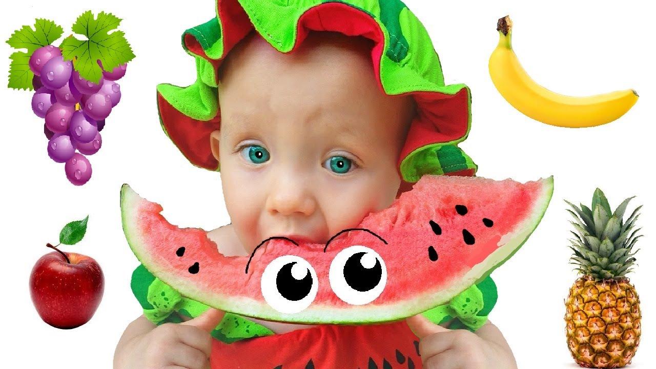 Stacy cantando a Canção das Cores e o Johny finge brincar de pegar seu Fruit |동요와 아이 노래  어린이 교육