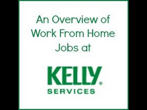 $11/hr Work@Home with Kelly Services