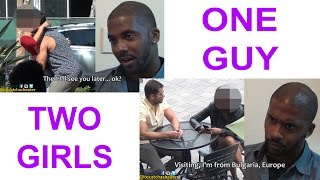 1 GUY vs 2 GIRLFRIENDS