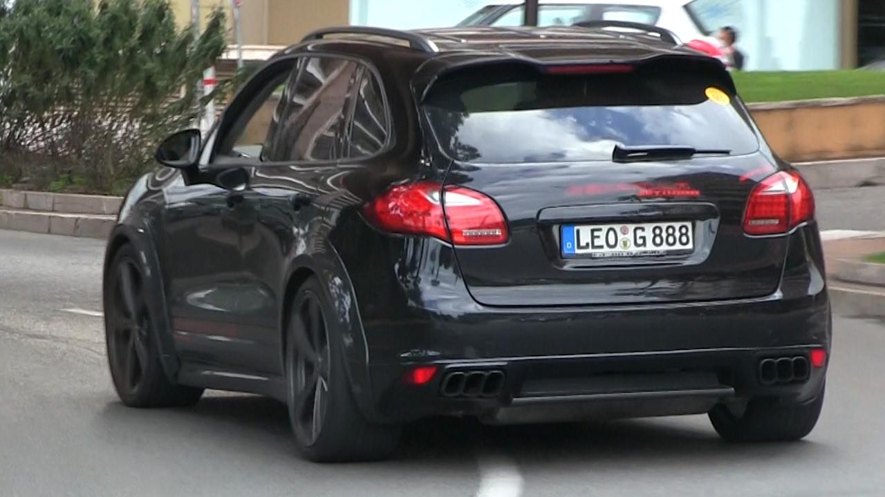 Porsche cayenne gamballa