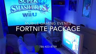 Florida Fortnite Video Gaming Party Package
