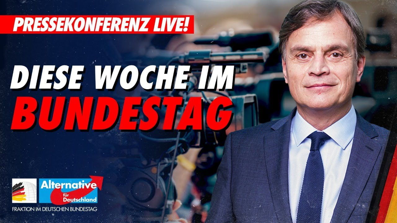 02.03.2021  AfD im Bundestag: wöchentliche Pressekonferenz
